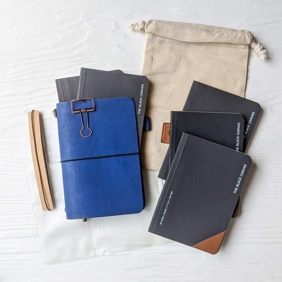 TBC Travellers Journal + TBC Notebooks Bundle