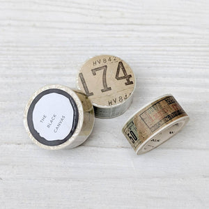 Ticket Stub Washi Tape - 20 mm x 8 m