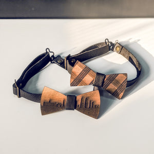 Wooden Bow-ties