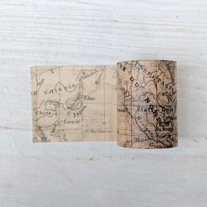 World Map Washi Tape - 60 mm x 8 m