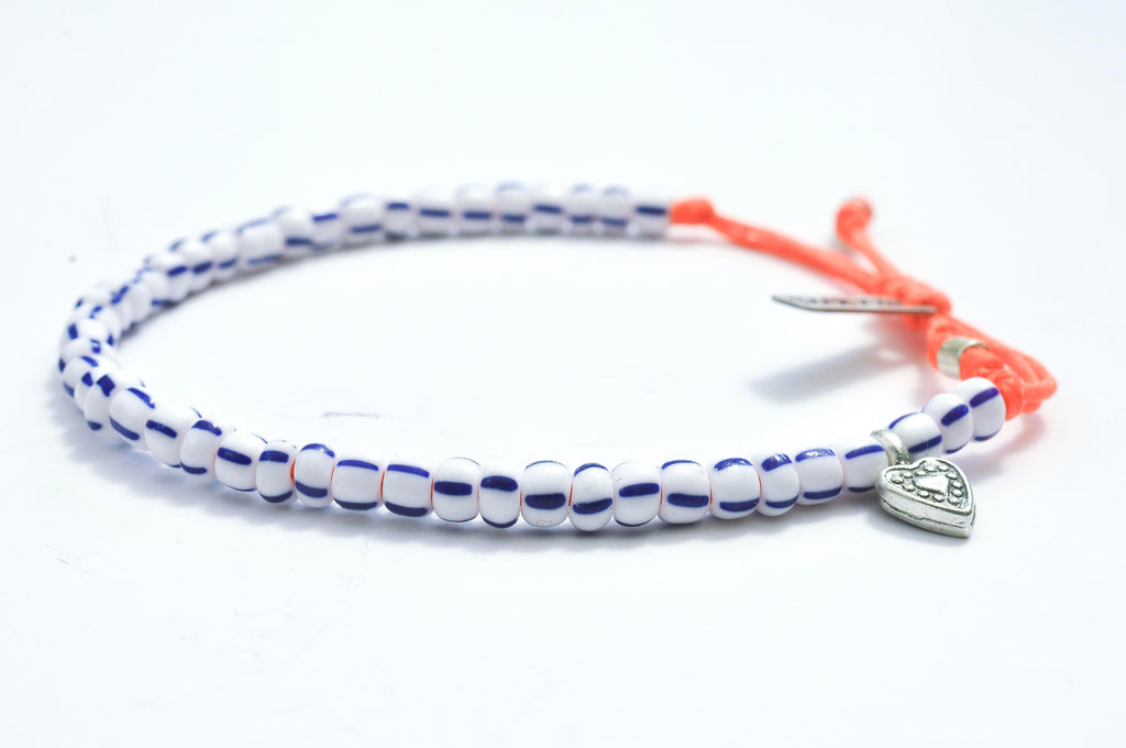 Heart bracelet Stripe