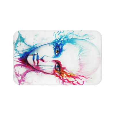Bipolarity by Jojoes Art Bath Mat