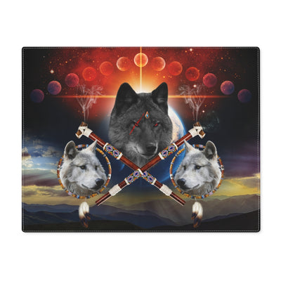Guardian of Peace Black Placemat