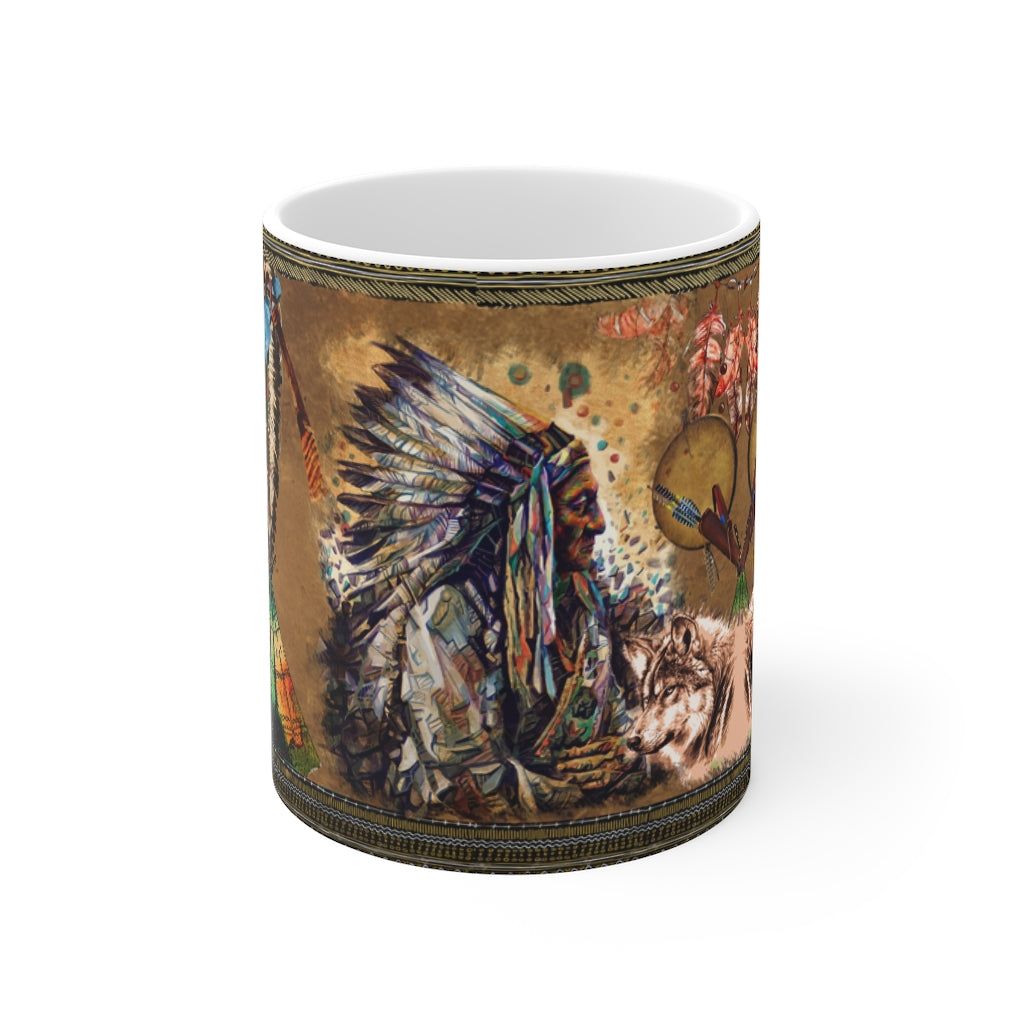 Wolf Warrior Mug 11oz