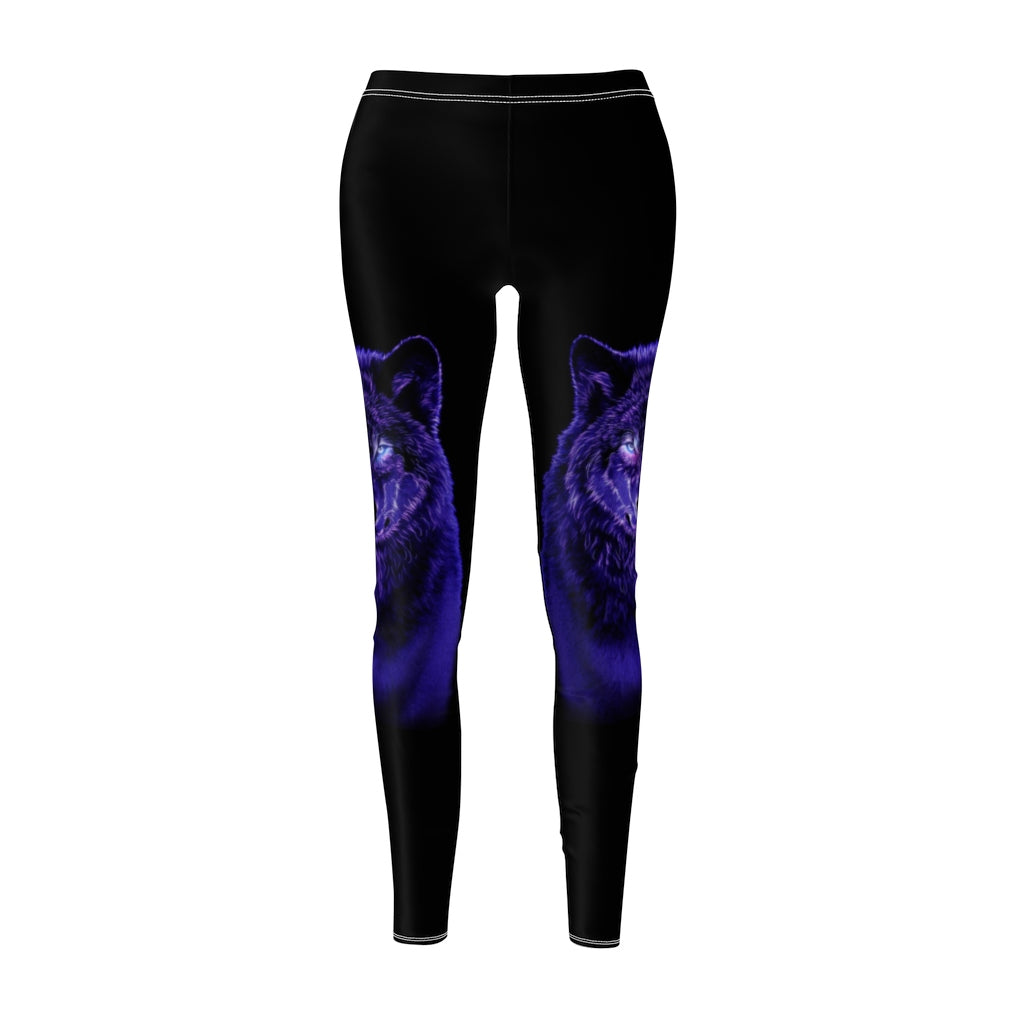 Brilliance Blue All Over Print Leggings
