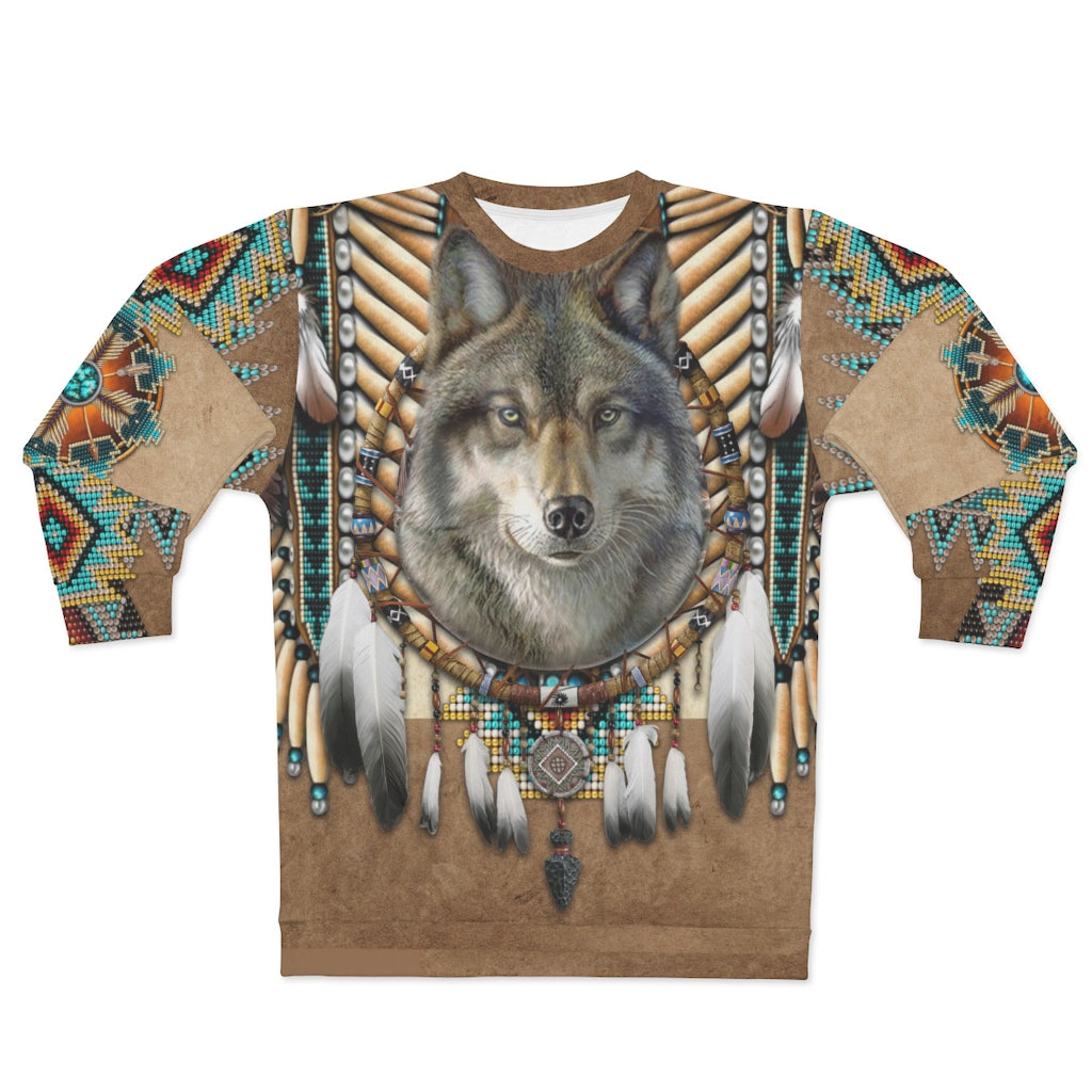 Spirit of the Wolf All Over Print Sweatshirt
