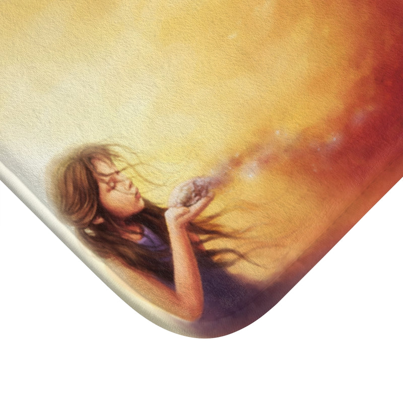 Born from the Ashes by Jojoes Art Bath Mat