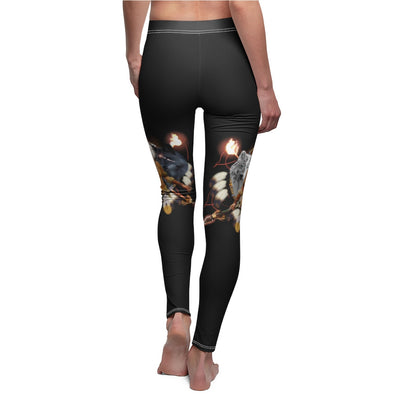 Scarlet Warrior with hairdress All Over Print Leggings
