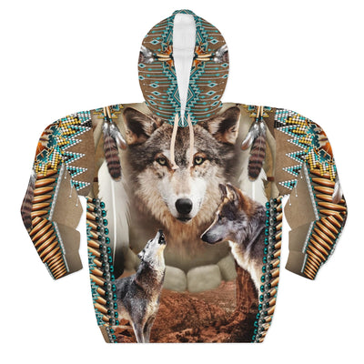 Alpha Spirit All Over Print Hoodie