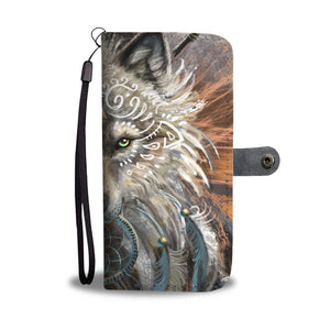 Wolf Warrior Wallet Phone Case