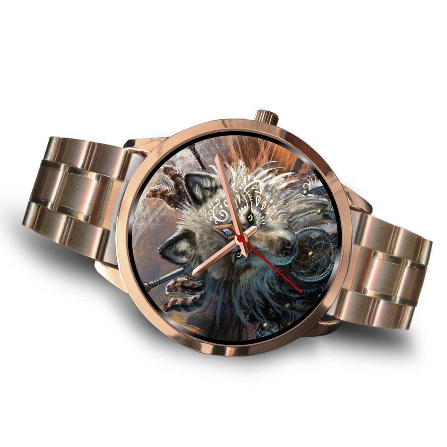 Wolf Warrior Watch by SunimaArt