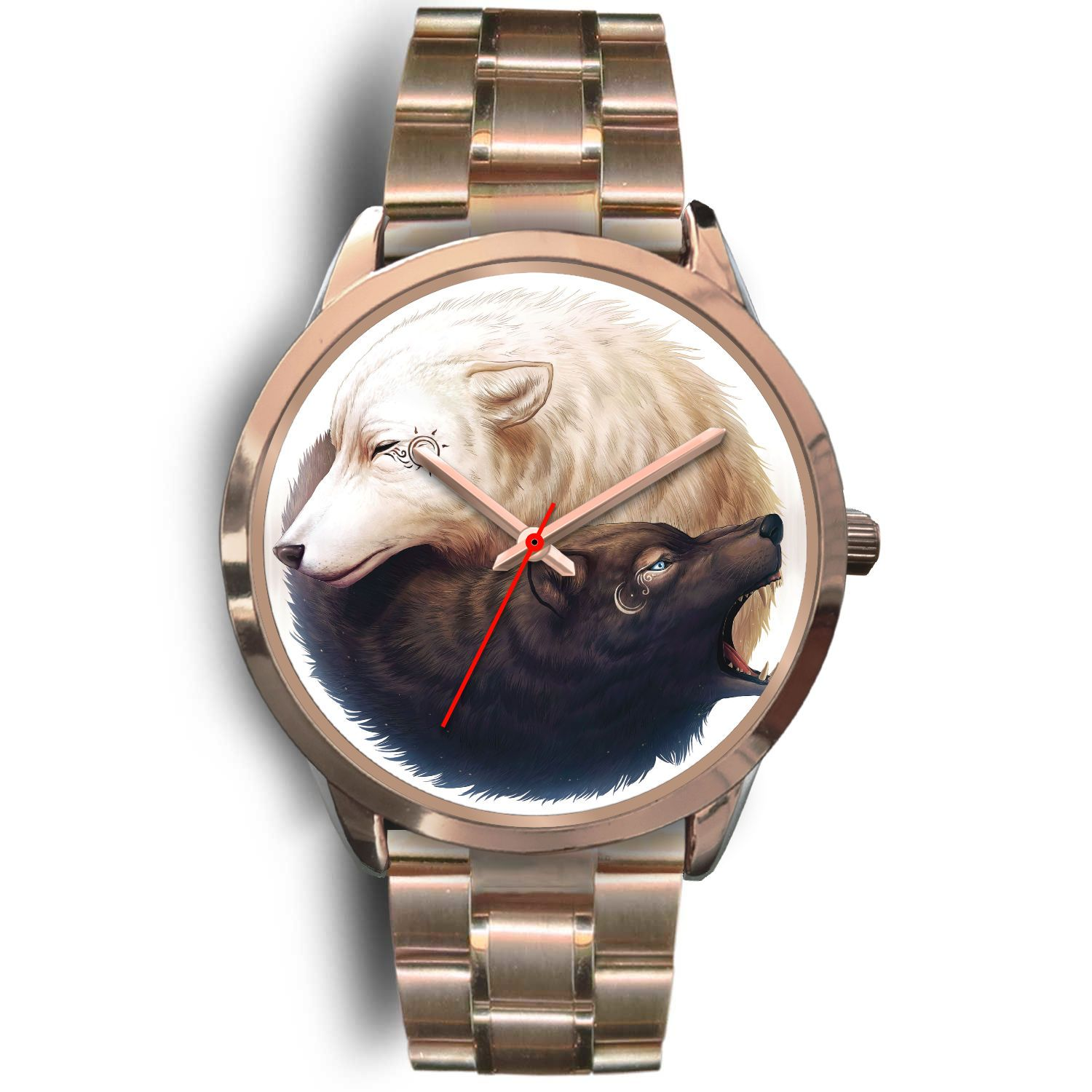 YinYang Wolf Watch