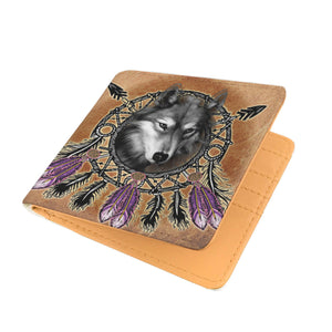 Dreamcatcher Wolf Wallet by JPart