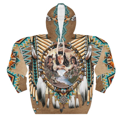 Spirit Of The Maiden All Over Print Hoodie