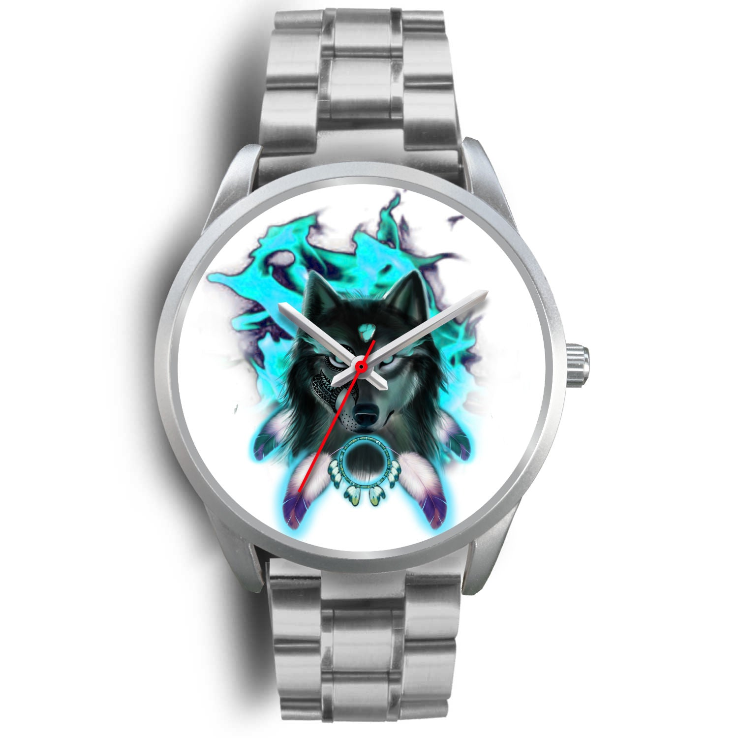 Wakanda Silver Watches