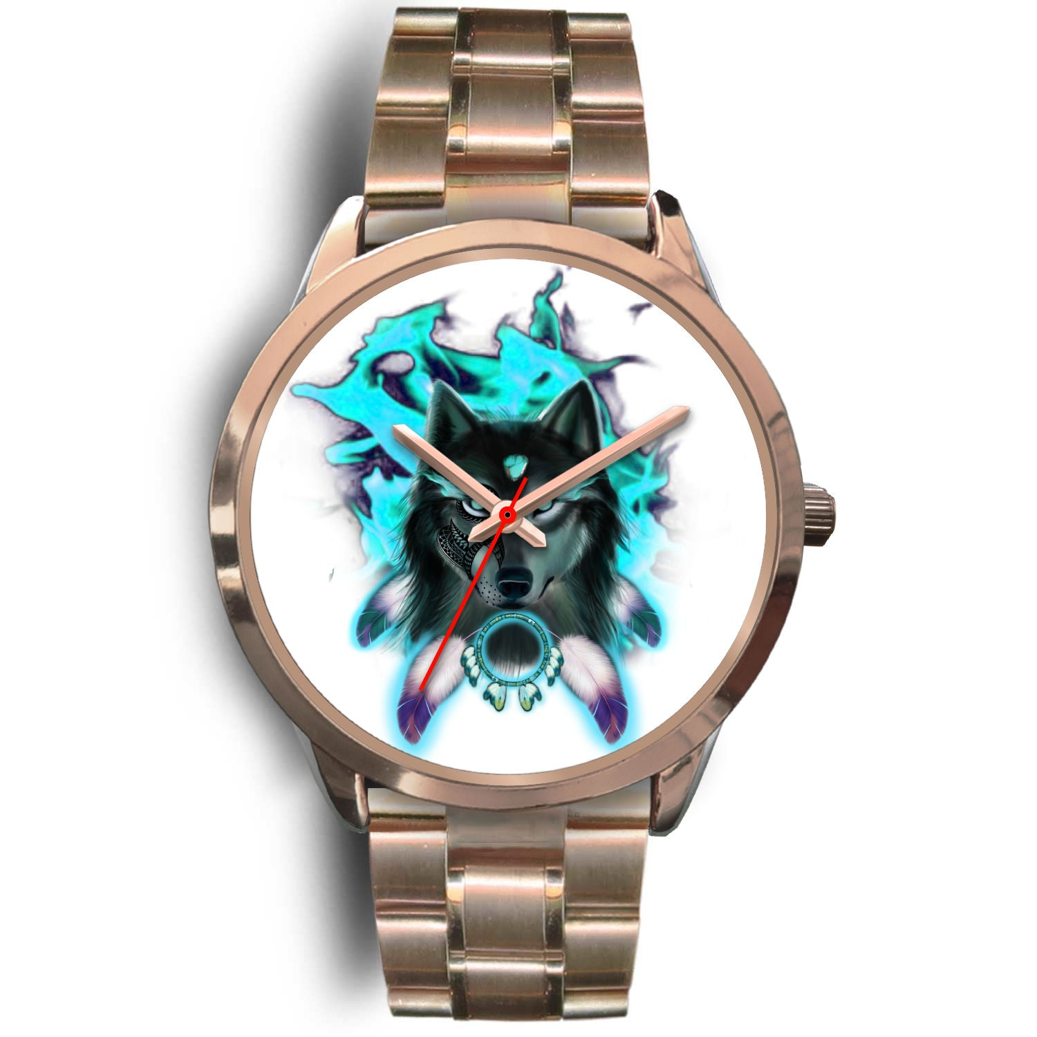 Wakanda Gold Watches