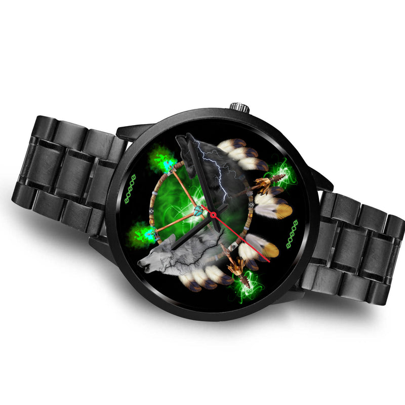 Day and Night Lightning Black Watches