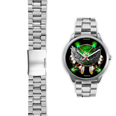 Day and Night Lightning Silver Watches