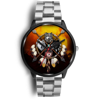 4 Wolves Warrior Watch Dark
