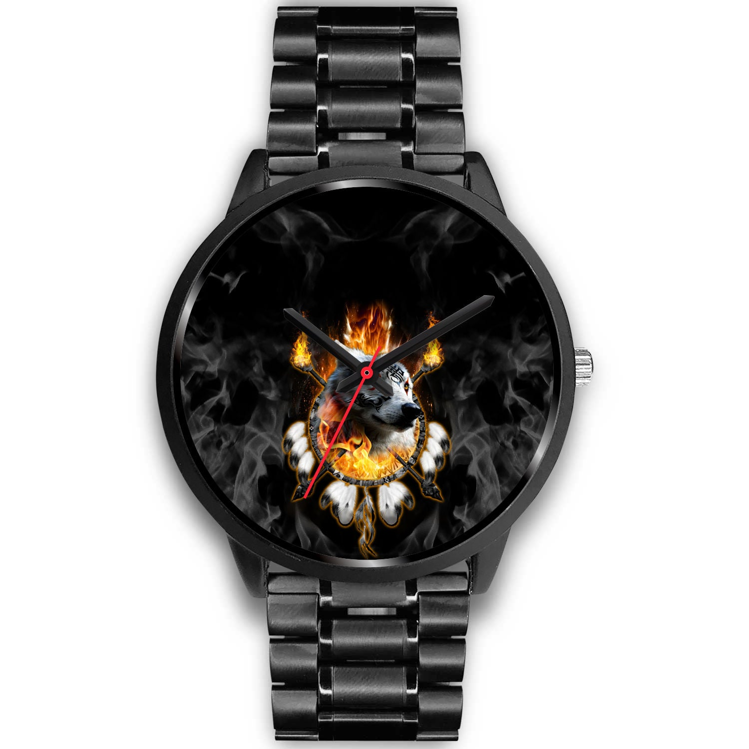 Fire Wolf Chief Watch