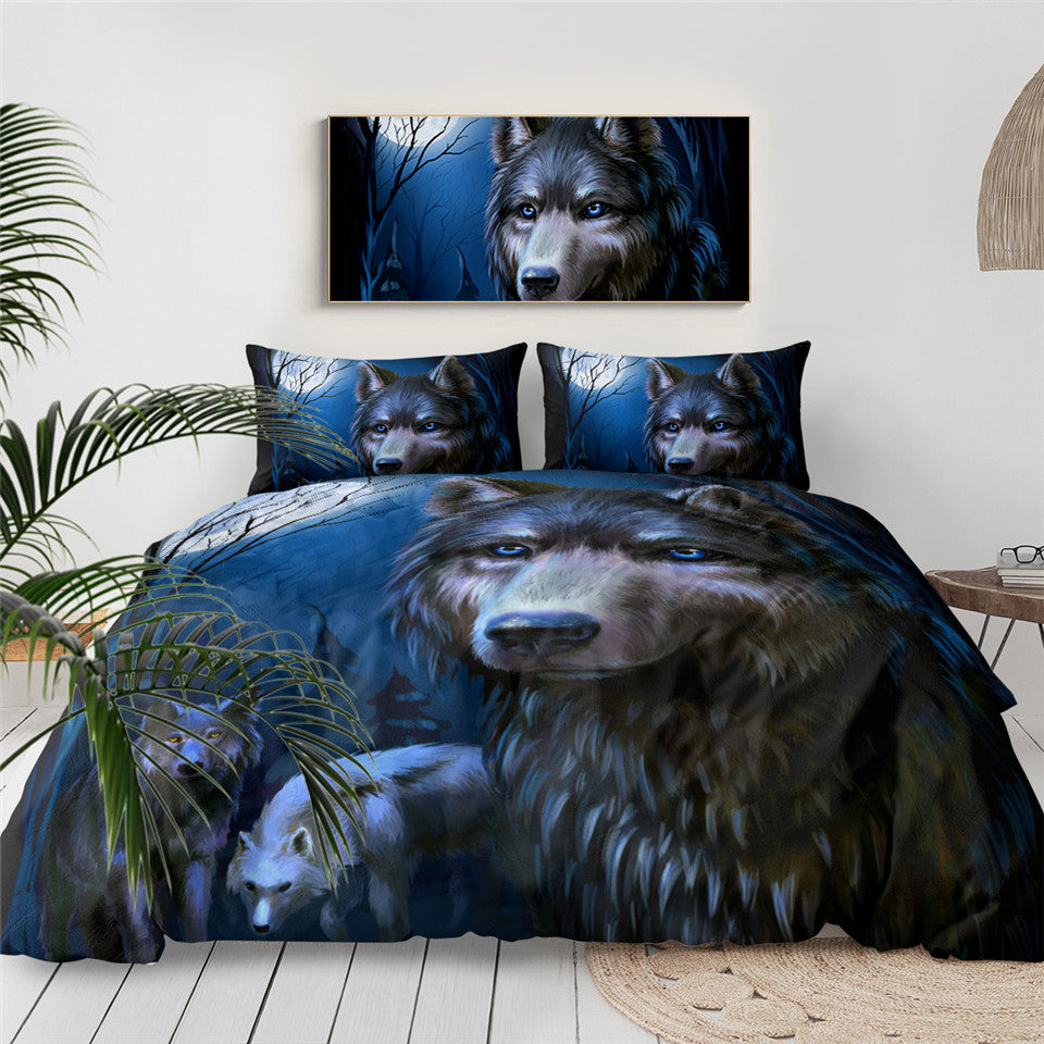 SWBJ2026 Wolf Bedding Set