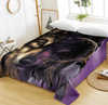 Wolf Dreamcatcher Face Bed Sheet