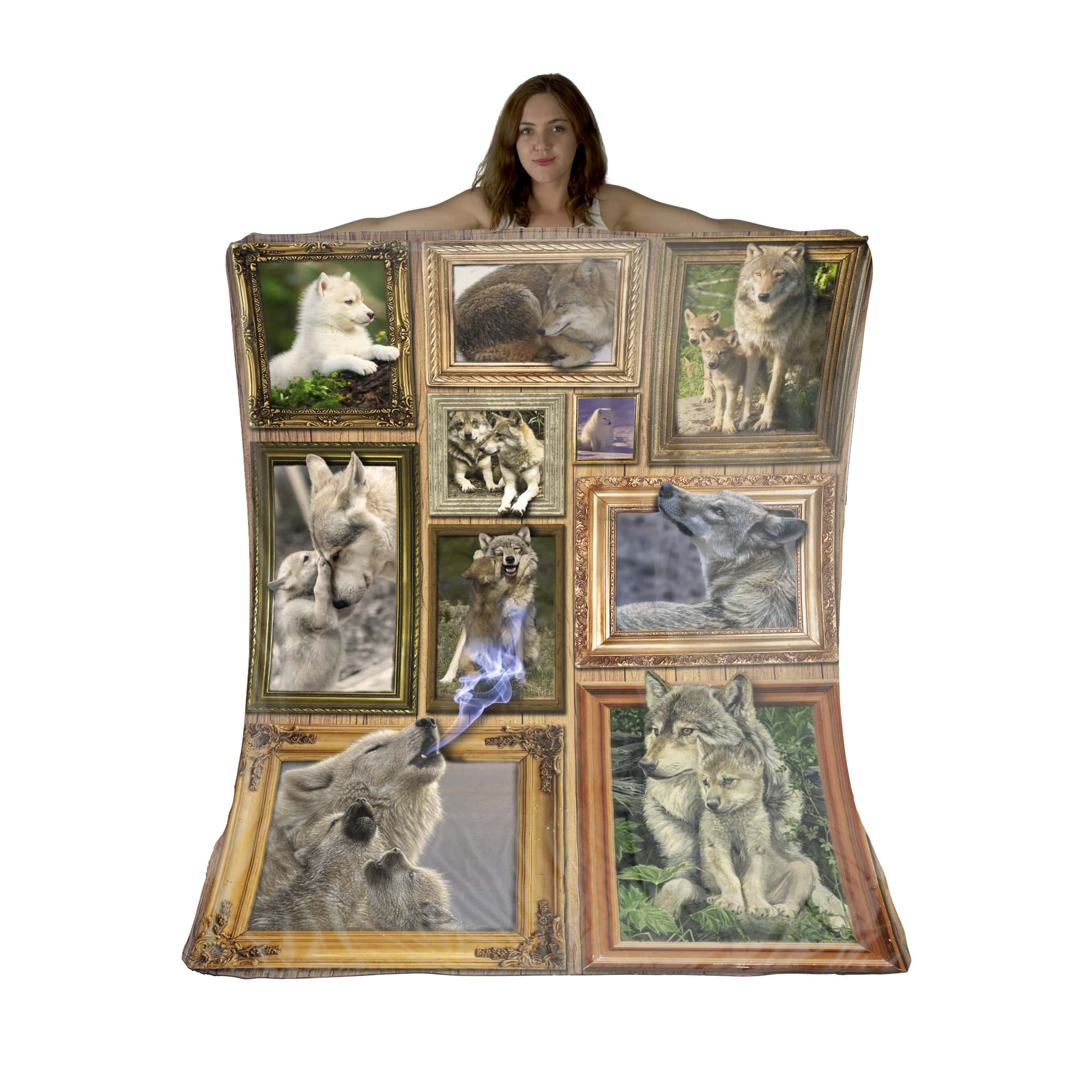 Free Spirited and Wild at Heart Sherpa Fleece Blanket