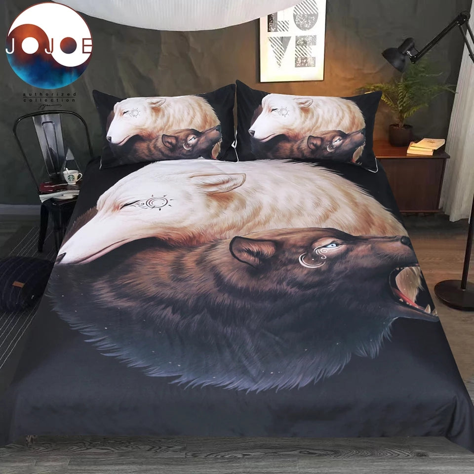 Yin Yang by Jojoes Art Bedding Set