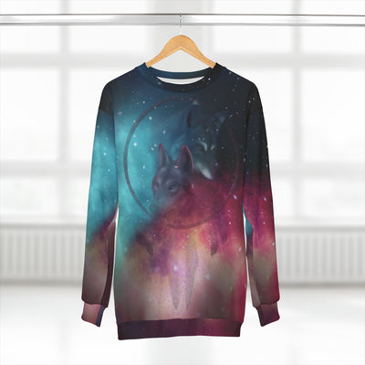 Galaxy Dream Catcher All Over Print Sweatshirt