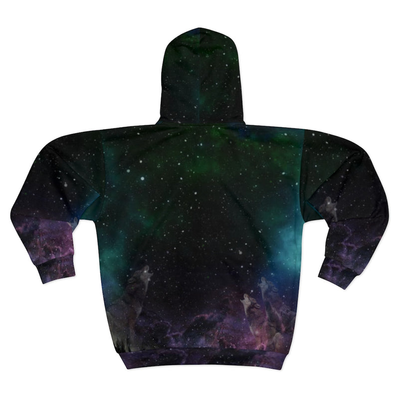 4 Age Color All Over Print Zip Hoodie