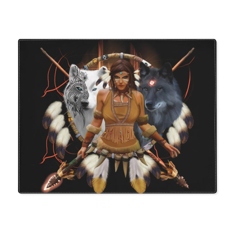 Scarlett Warrior Placemat