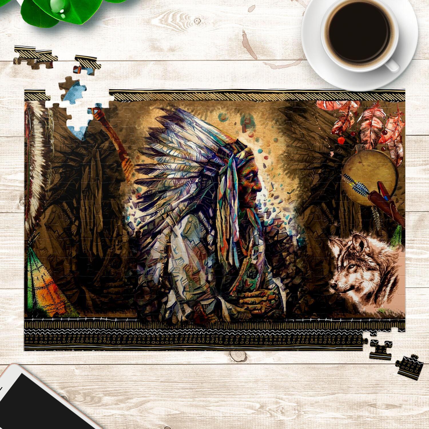 Wolf Warrior Jigsaw Puzzles