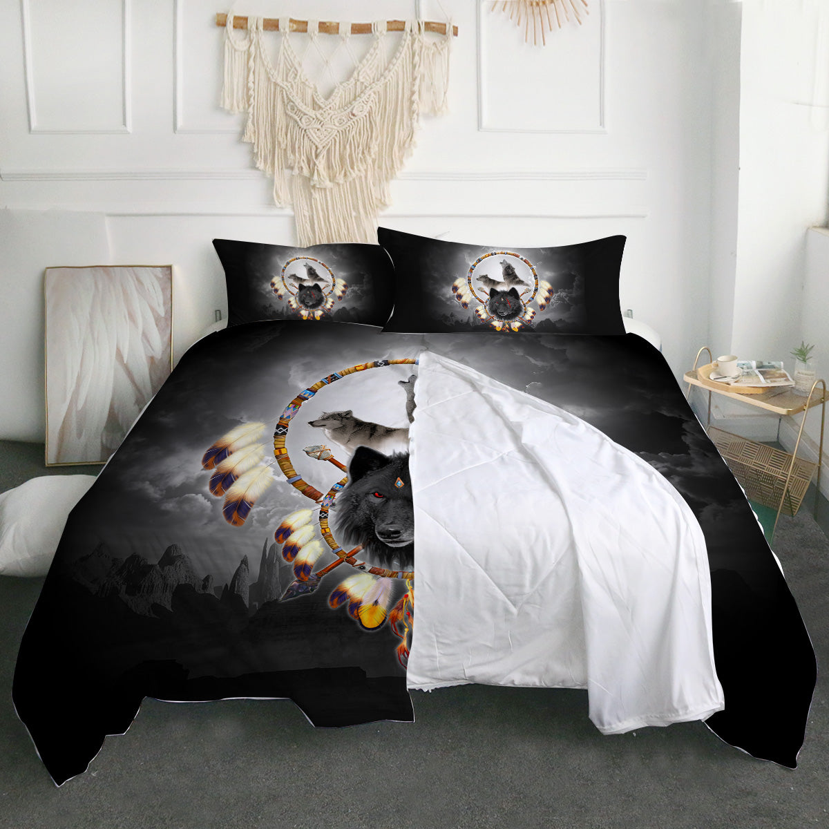 Alpha Warrior Zipper Closure Duvet Set