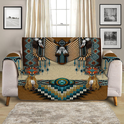 Spirit Dancer Quilted Sofa Cover