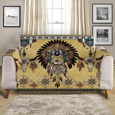 Totem Spirits Quilted Cover for Sofa, Chairs, Futons & Recliners