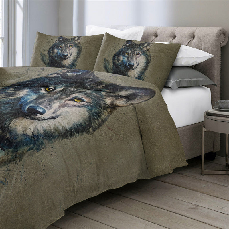 SWBJ2039 Wolf Bedding Set