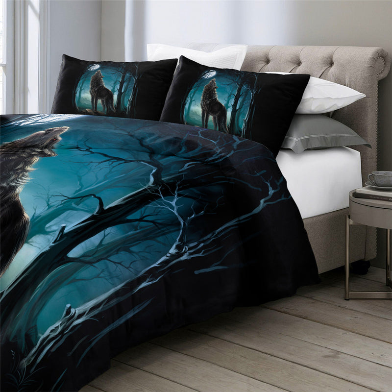 SWBJ2030 Wolf Bedding Set
