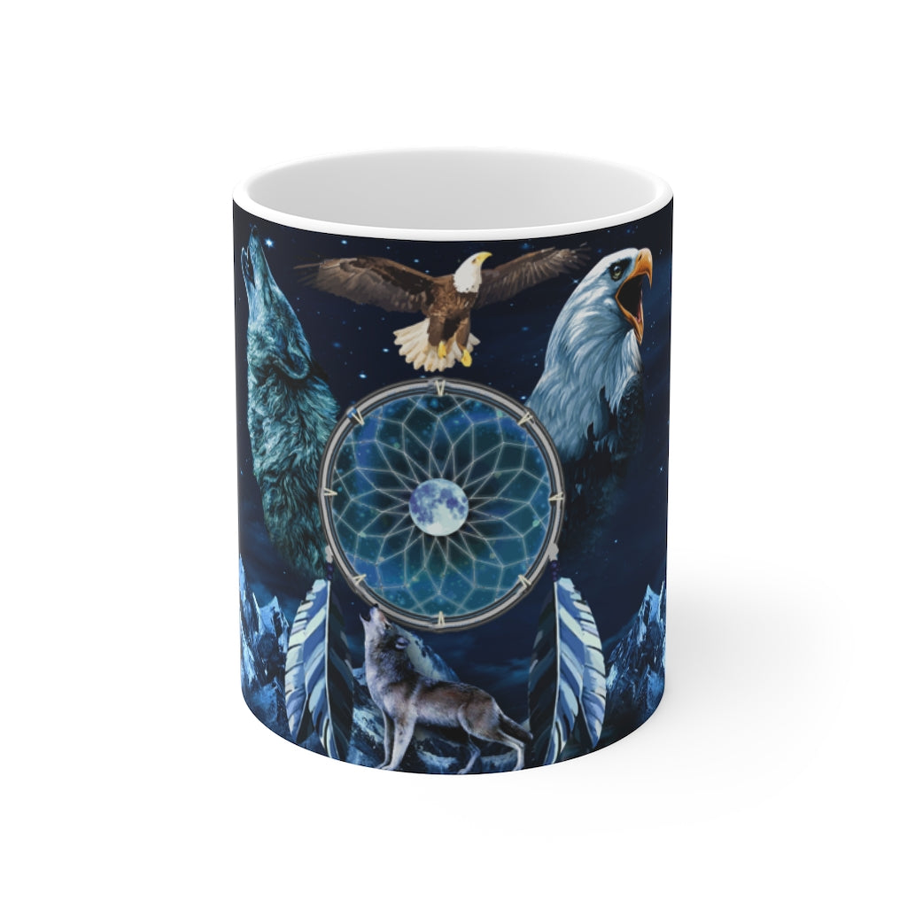 Spirit Animal Dreamcatcher  Mug 11oz