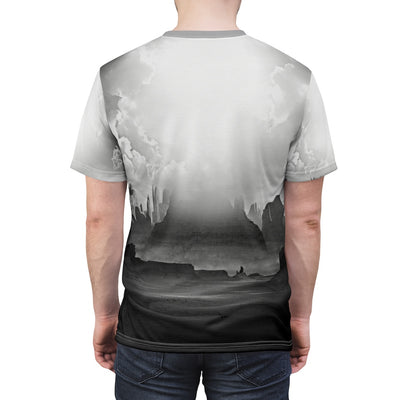 Luna Moon Wolf All Over Print T-shirt