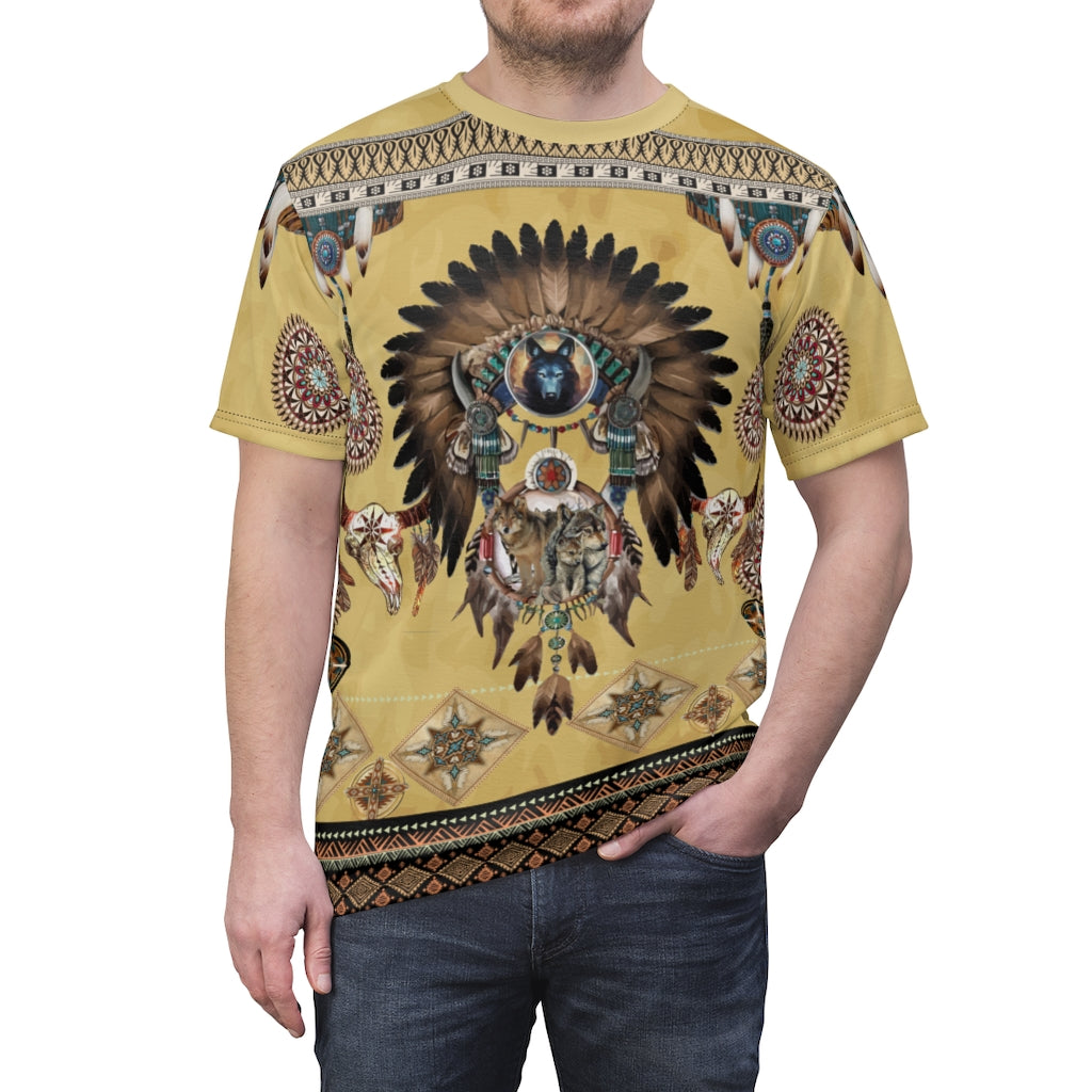 Totem Spirits All Over Print  T-shirt