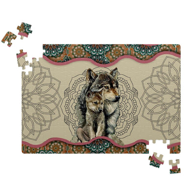Wolf Mom's Love Jigsaw Puzzles