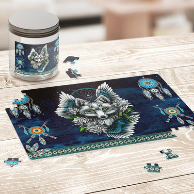 Wolf Dream Catcher Jigsaw Puzzles