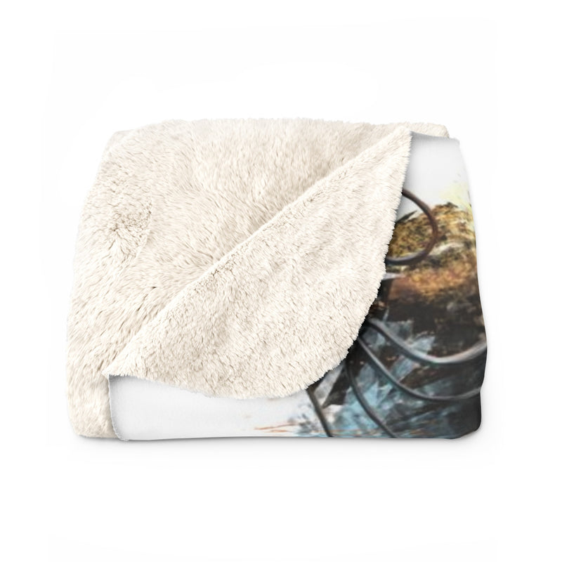 Broken Dreams Sherpa Fleece Blanket