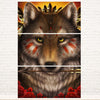 Khalia's Wolf Warrior 3PC Canvas