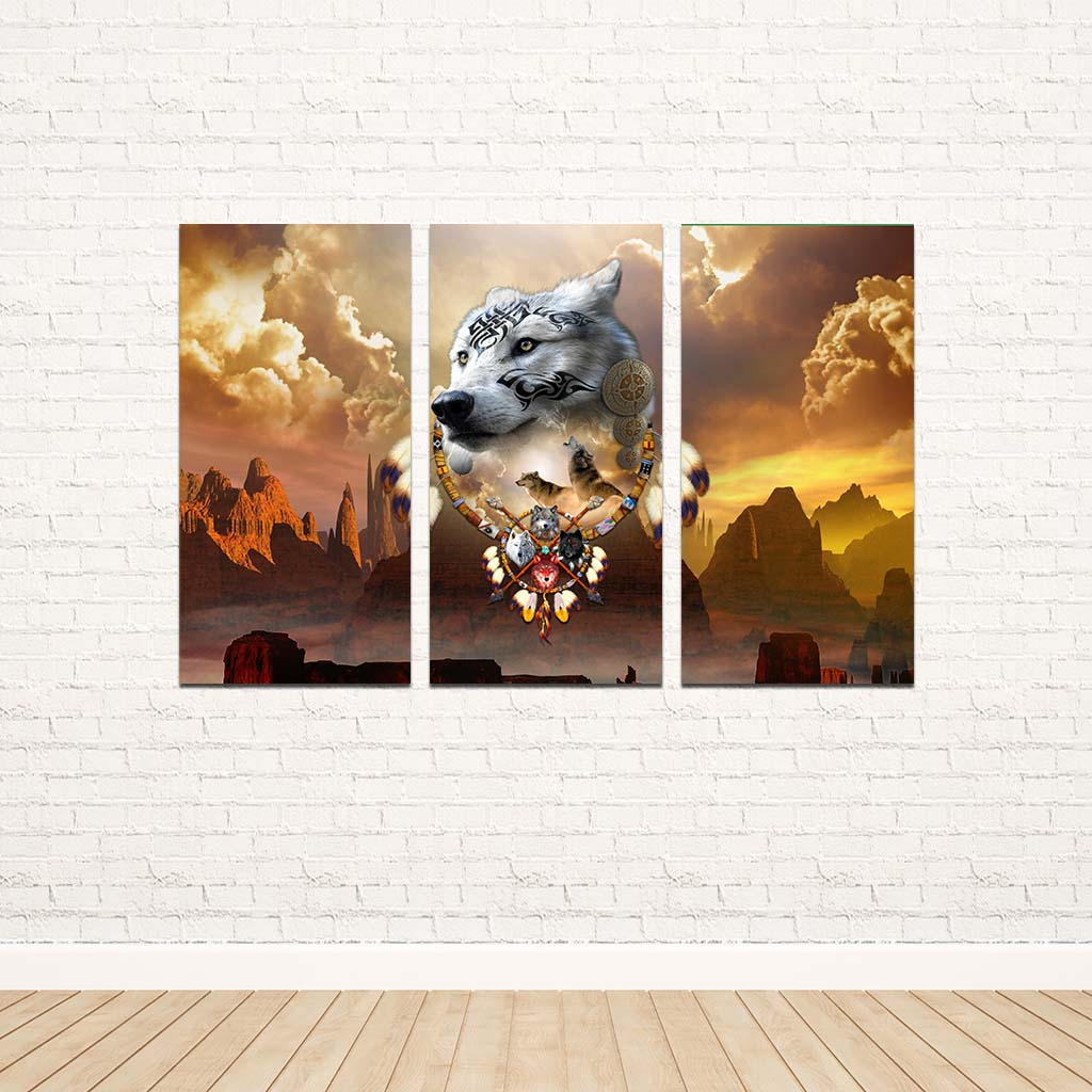 Songs of the Elder Warrior 3PC Canvas V
