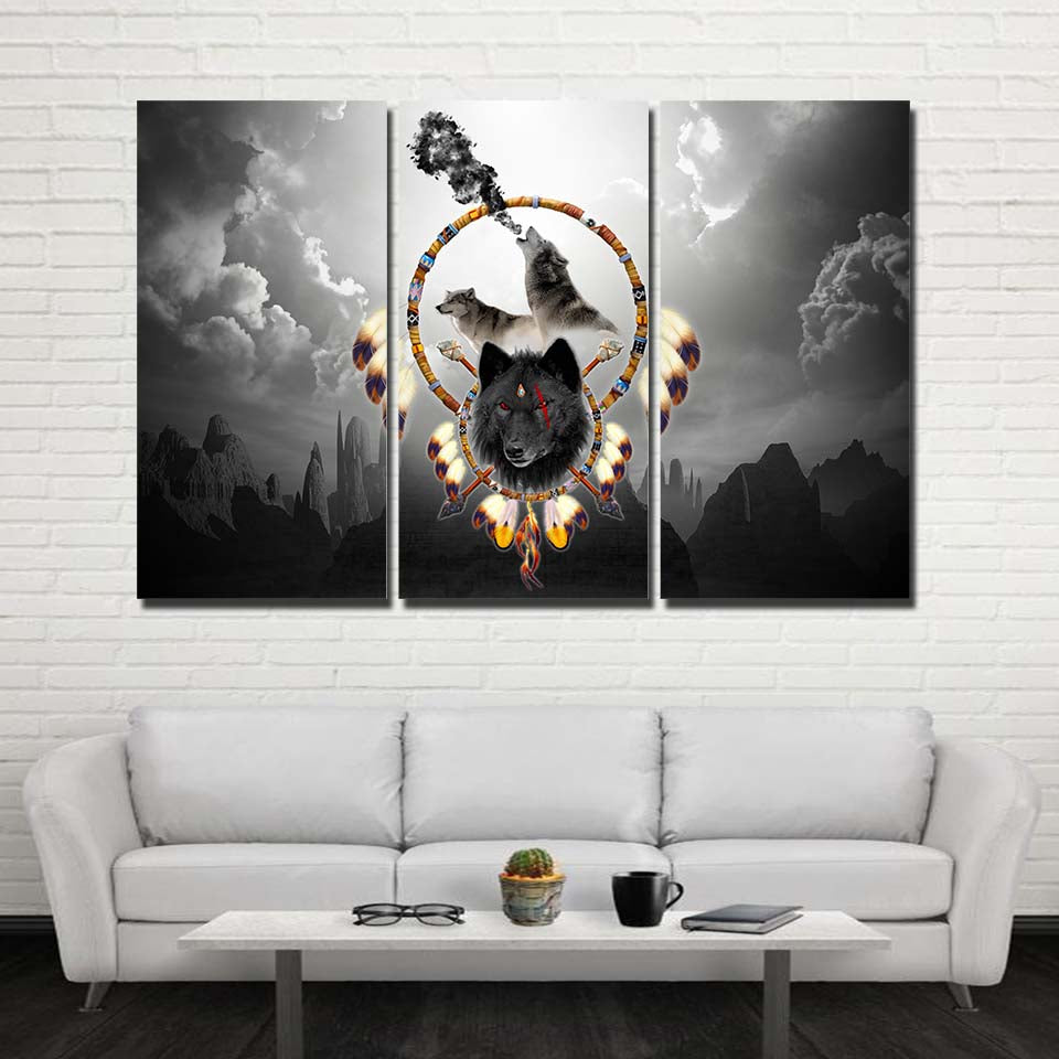 Alpha Warrior 3PC Canvas V