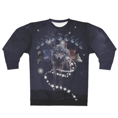 Phases of Luna All Over Print Sweatshirt