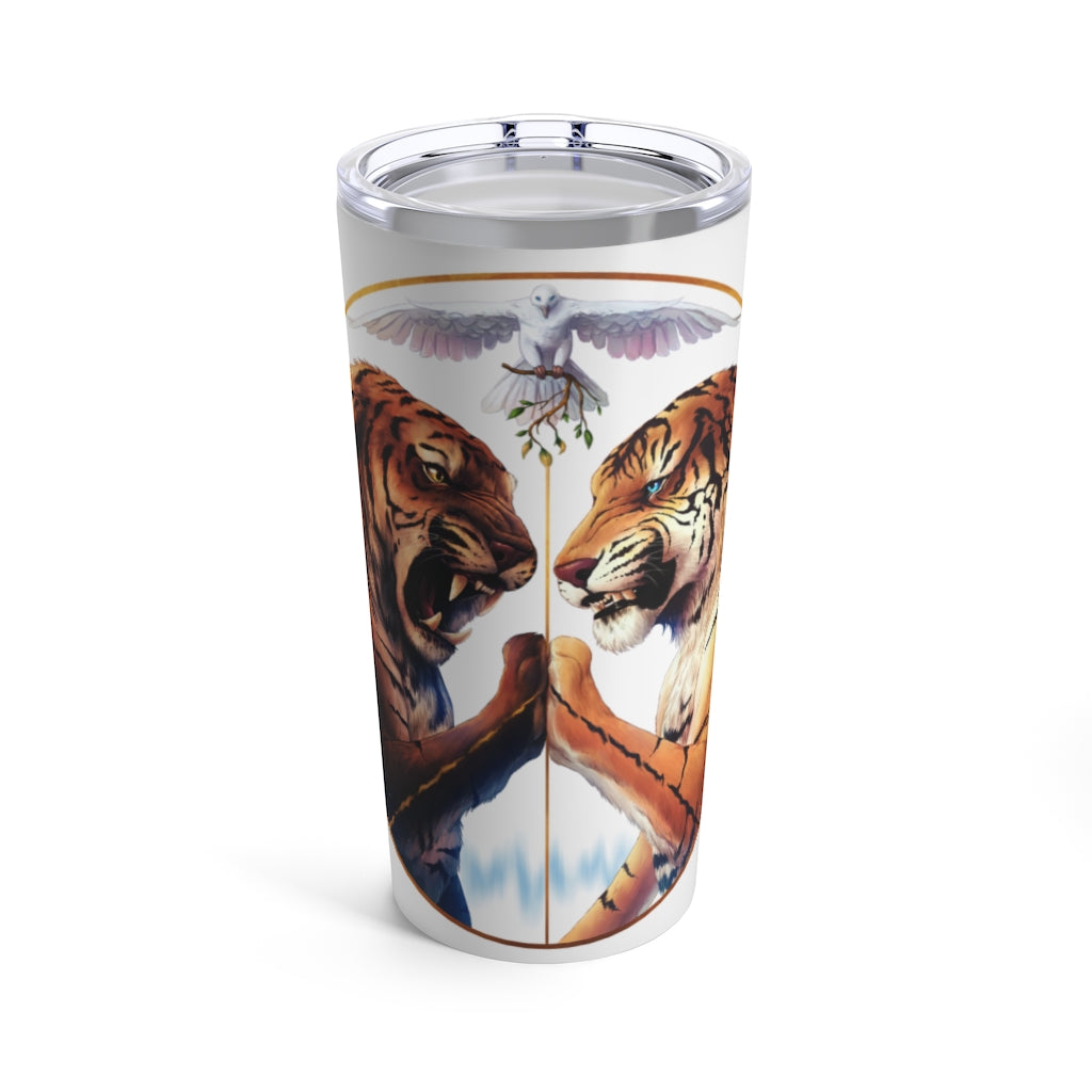 Peace Light by Jojoes Art Tumbler