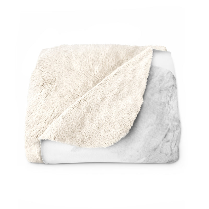 Symbol of the Eagle Sherpa Fleece Blanket