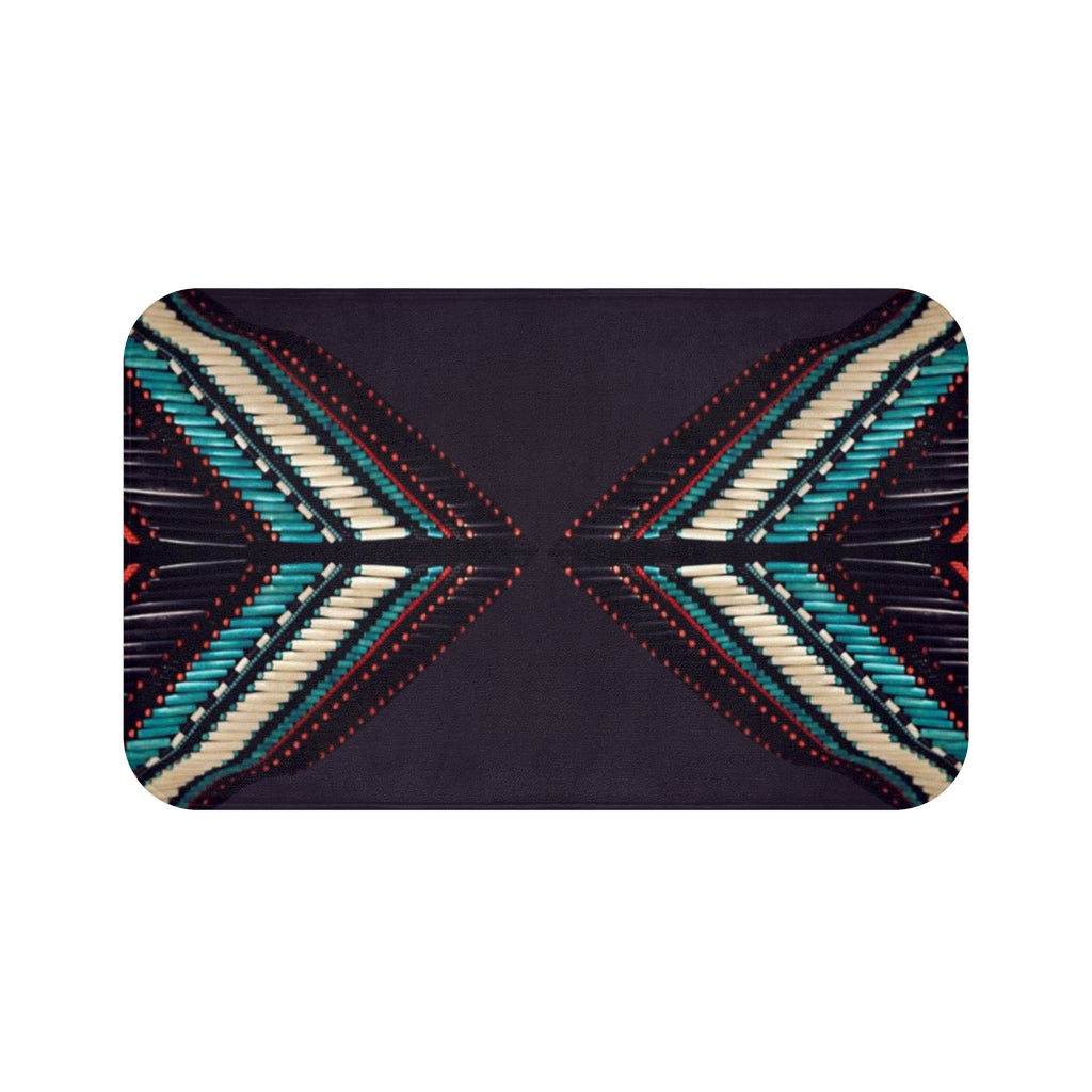 Colors of our Elders Bath Mat